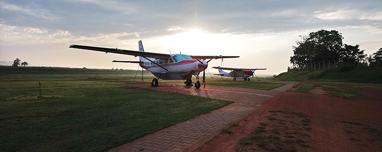 MAF at Kajjansi Airfield, Uganda