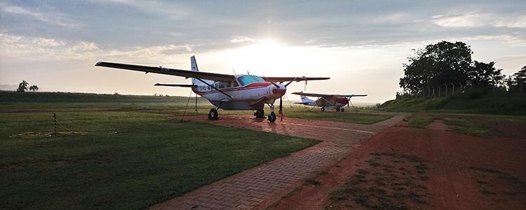 MAF at Kajjansi Airfield, Uganda